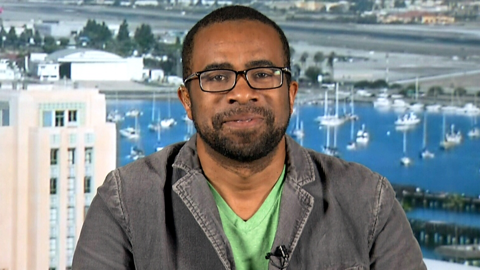 Damon Brown, co-founder of Cuddlr, speaks to CTV's Canada AM from San Diego, Jan. 20, 2015.