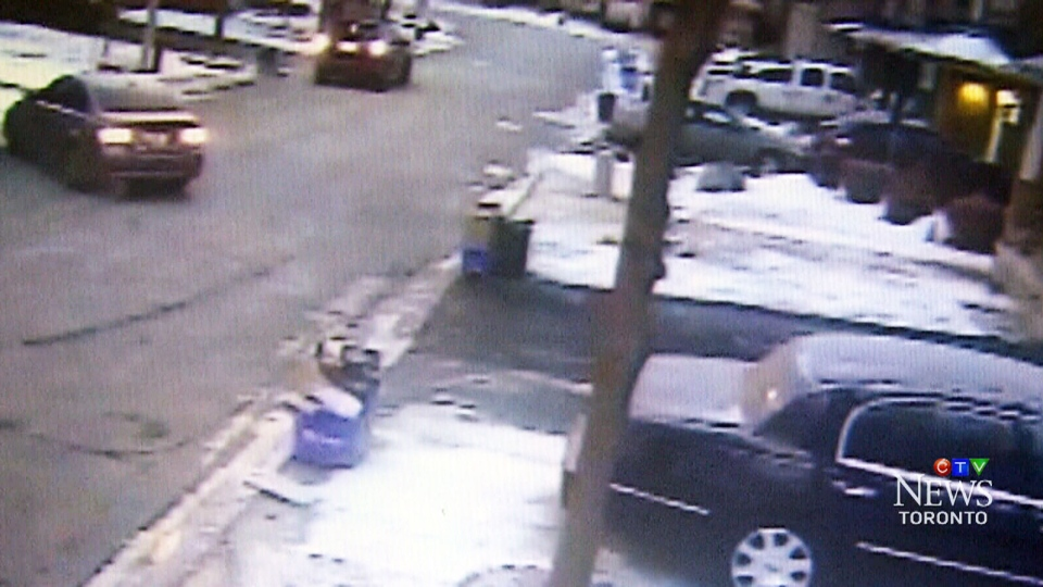 Police say they received five reports of warm-up vehicle thefts Tuesday morning.