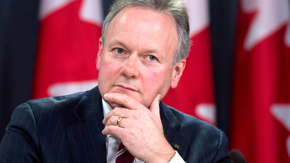 Bank of Canada governor Stephen Poloz holds a news conference on the Bank of Canada's decision to reduce the overnight rate, Wednesday, Jan. 21, 2015 in Ottawa. (Adrian Wyld / THE CANADIAN PRESS)