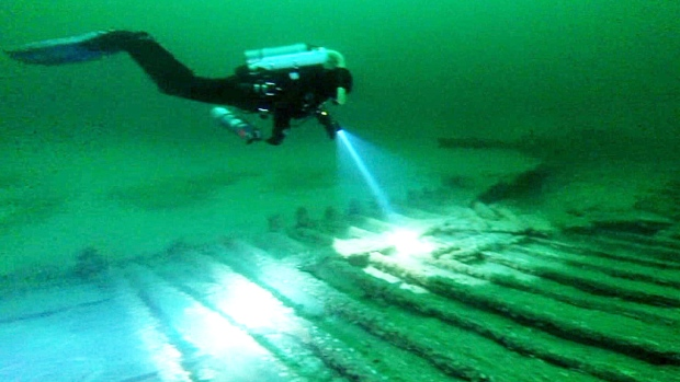 Two Wrecked Canal Boats From Mid 1800s Found In Lake Ontario Ctv News