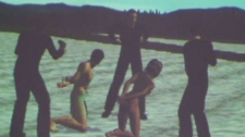 Mexican police released this digital re-enactment of beach murders of Carmen Ximena Osegueda Magana and boyfriend Alejandro Honorio Santamaria.