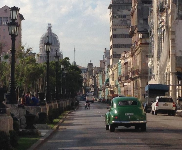 A city frozen in time; but now many Cubans are using the word 'esperanza' - hopeful for their future. (Richard Madan / CTV News)
