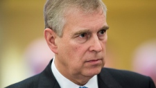 Prince Andrew in Davos, Switzerland