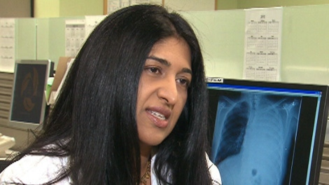 Dr. Natasha Leighl of Toronto's Princess Margaret Hospital speaks to CTV News.
