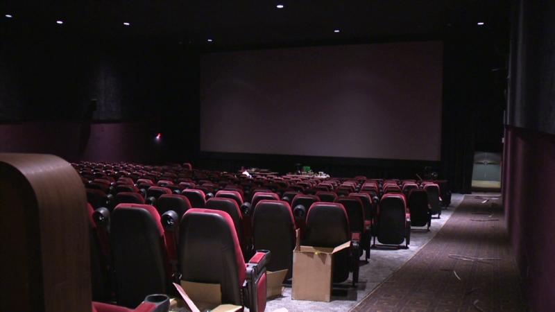 Seats await patrons inside the Apollo Cinema in Kitchener on Thursday, Jan. 22, 2015.