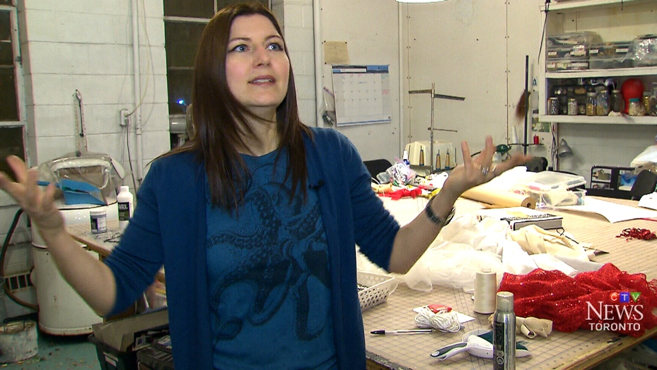Alex Kavanagh is a Toronto-based TV and film costume designer, speaks with CTV News.