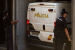 A Spanish police van is shown in Madrid in this Monday, Sept. 1, 2014 file photo. (AP / Andres Kudacki)