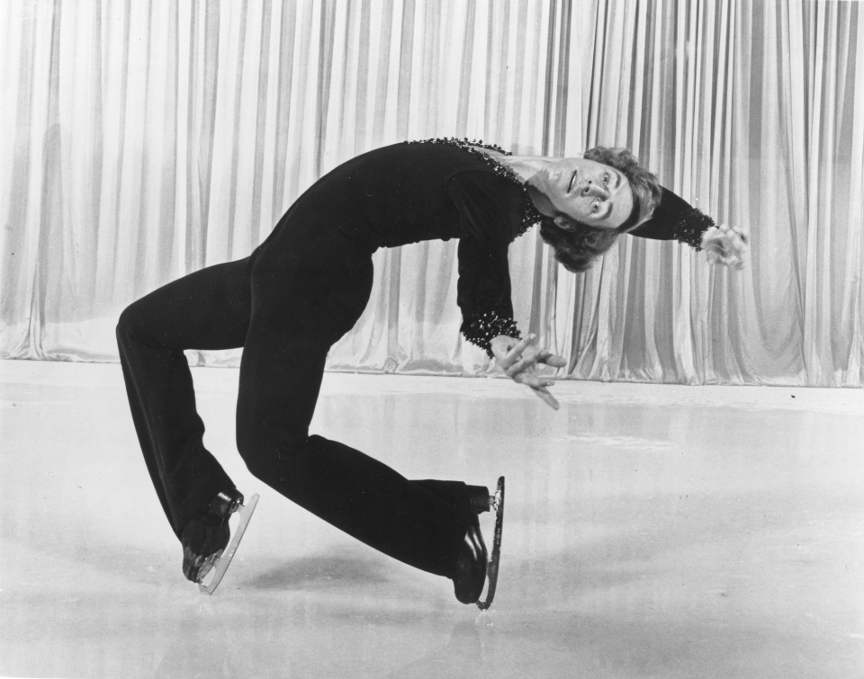Legendary Canadian figure skater Toller Cranston, shown in this undated handout photo, has died. He was 65.