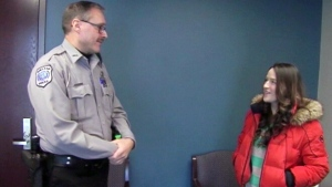 Police officer pays it forward