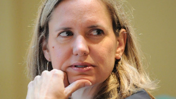 Canadian Ambassador to Libya Sandra McCardell appears as a witness at a Commons Defence Committee on Parliament Hill in Ottawa on Tuesday, September 20, 2011. (Sean Kilpatrick / THE CANADIAN PRESS)