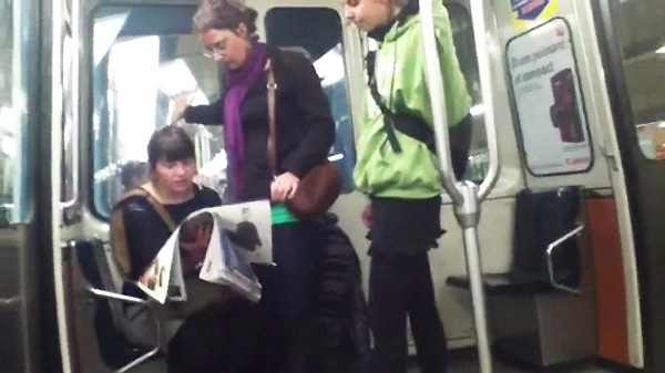 Police released a photograph of three women who may be involved in the metro smoke bomb attacks in Montreal.