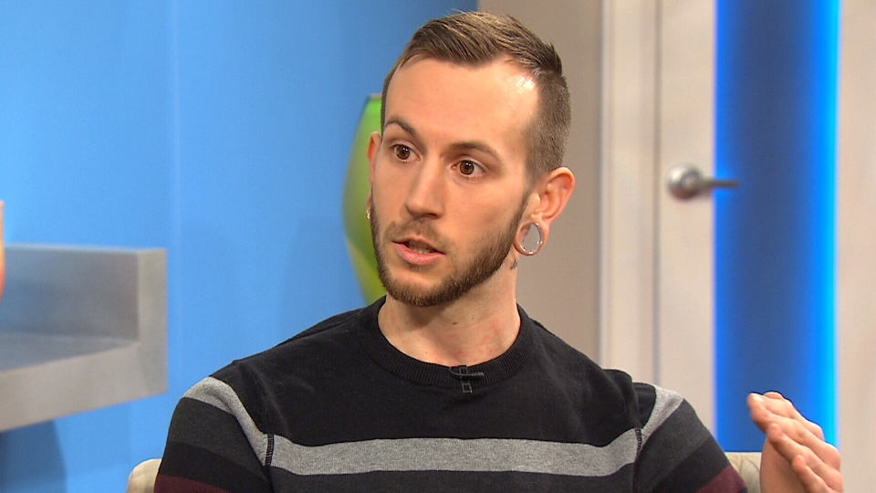 Jay Walker speaks to CTV's Canada AM about his struggle with an eating disorder, Monday, Jan. 26, 2015.