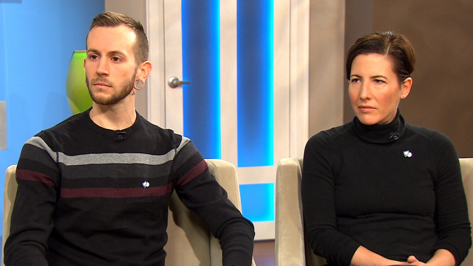Jay Walker and Deborah Berlin-Romalis speak to CTV's Canada AM about male eating disorders, Jan. 26, 2015.