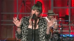 Suzie McNeil performs