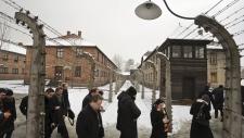 Auschwitz Nazi death camp liberation anniversary