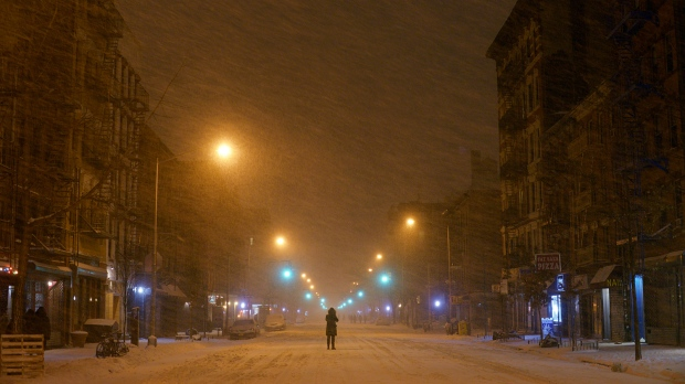 U S  Northeast snow storm: hour-by-hour timeline of blizzard