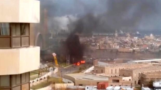 Attack on a hotel in Tripoli, Libya