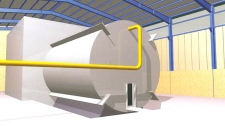 This undated rendering said to come from inside Iran's Parchin military site and obtained by The Associated Press from an official of a country tracking Iran's nuclear activities, shows a chamber of the type needed for nuclear arms-related tests that U.N. inspectors suspect Tehran has conducted at the site. (AP)