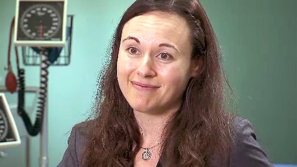 Dr. Simone Vigod speaks to CTV News.