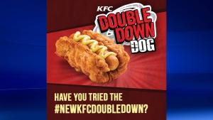 KFC Double Down Dog