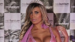 Andressa Urach competes in the Miss Bumbum Brazil contest in Sao Paulo, Brazil, on Nov. 30, 2012. (AP / Nelson Antoine)
