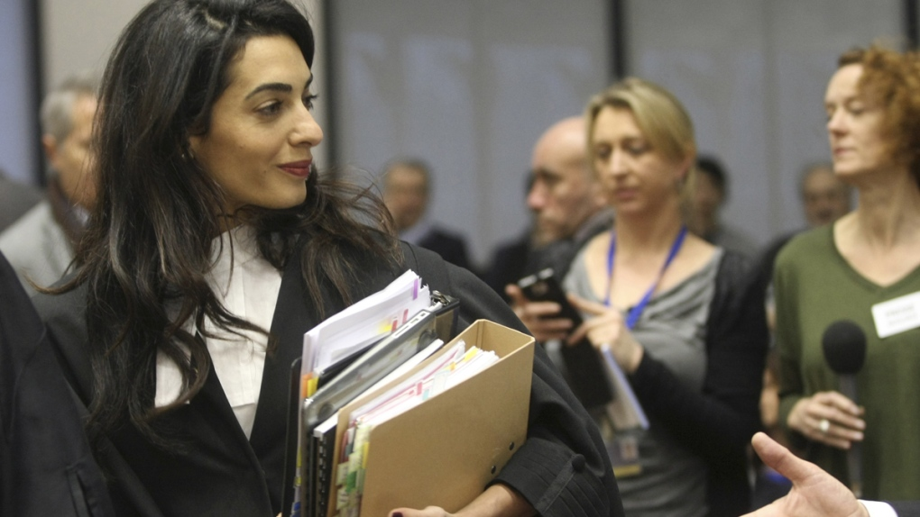 Amal Clooney on Armenian genocide case legal team