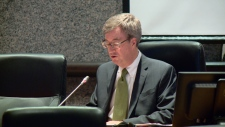 Jim Watson delivers the State of the City address