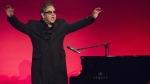 Elton John performs at the Elton John AIDS Foundation's 13th Annual benefit at Cipriani's Wall Street on Tues., Oct. 28, 2014, in New York. A television series co-produced by Elton John has been picked up by HBO. (AP / Charles Sykes)