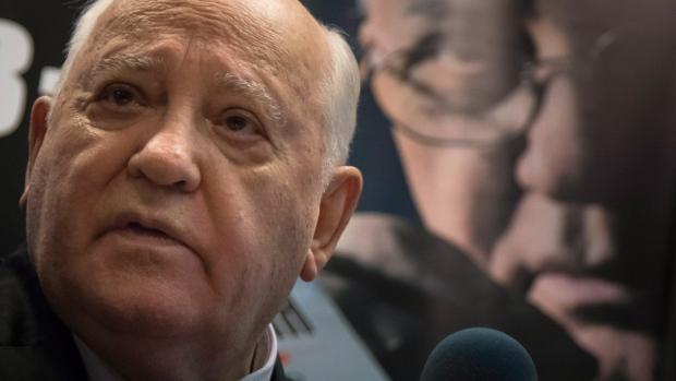 Mikhail Gorbachev in Moscow