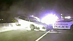 Violent love spat leads to high-speed police chase