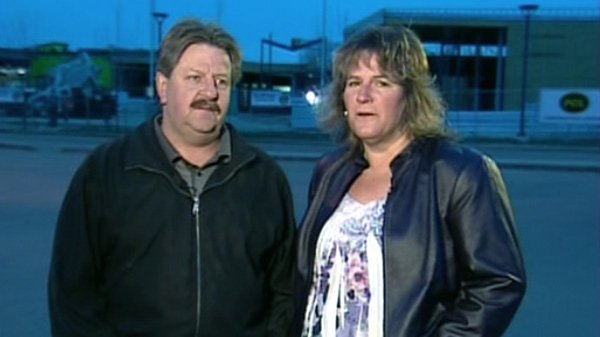 Slave Lake residents Brenda and Dave Derkoch speak to Canada AM about rebuilding their home, Tuesday, May 15, 2012.