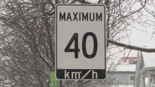 Ontario is looking at making 40 km/h the new default speed on city streets.