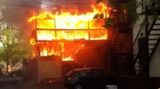 Central Ottawa bed and breakfast burns down.
