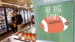 Whole Foods' Super Bowl promotion calling it 'the big game' in Phoenix. (AP / Ross D. Franklin)