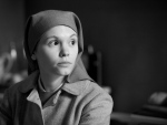 "This image released by Music Box Films shows Agata Trzebuchowska in a scene from ""Ida."" The film was nominated for an Oscar Award for best foreign language film on Thursday, Jan. 15, 2015. The 87th Annual Academy Awards will take place on Sunday, Feb. 22, 2015 at the Dolby Theatre in Los Angeles. (AP/Music Box Films)"