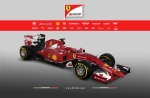 The new Ferrari SF15-T is seen in an image taken from the company's website. (Ferrari.com)