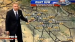 Fox 10 Phoenix weatherman Cory McCloskey talks his way through an outrageous weather forecast for Arizona.