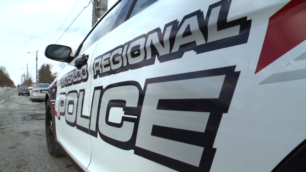 A Waterloo Regional Police car is shown in this file photo.