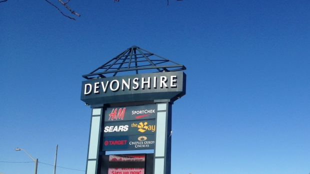 Devonshire Mall in Windsor