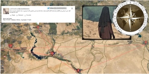 An intelligence research group says it has mapped out all the known locations of a Canadian woman believed to be in ISIS strongholds. (source: TRAC)