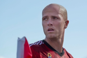 Toronto FC 's Michael Bradley is pictured during his team's 3-0 win over Chivas USA in MLS action in Toronto on Sunday September 21, 2014. (Chris Young/THE CANADIAN PRESS)