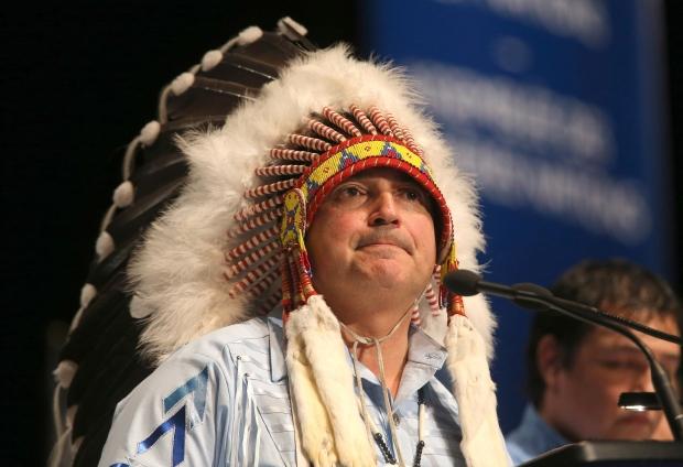 AFN Chief Perry Bellegarde
