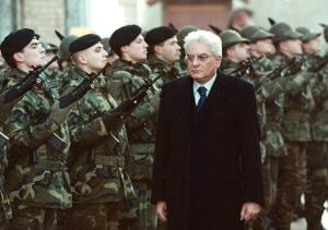 Italian President Sergio Mattarella appears in this Jan. 4, 2001 file photo in Sarajevo. (AP/Sava Radovanovic, file)