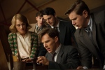 "This image released by The Weinstein Company shows, clockwise from left, Keira Knightley, Matthew Beard, Matthew Goode, Allen Leech and Benedict Cumberbatch in a scene from the film, ""The Imitation Game."" The film was nominated for an Oscar Award for best feature on Thursday, Jan. 15, 2015. (AP/The Weinstein Company, Jack English)"