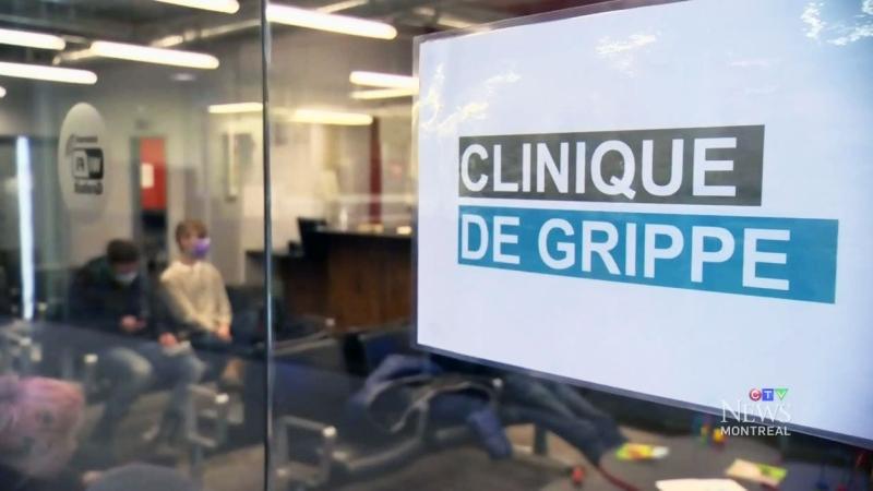 CTV Montreal: Flu season begins in Quebec