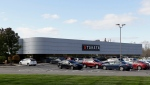 In this Oct. 22, 2014 file photo, the Takata building, an automotive parts supplier in Auburn Hills, Mich. is seen on Wednesday, Oct. 22, 2014.  (AP / Carlos Osorio)