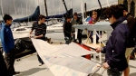 A team from the University of British Columbia is attempting to get an unmanned sailboat across the Atlantic Ocean by using only robotics. (Photo from UBC Sailbot)
