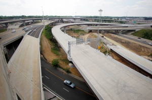 In this Wednesday, May 16, 2012 file photo, newly constructed roadways are being built in Fairfax County, Va. (AP / Haraz N. Ghanbari)