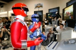 In this Disney/Bandai file photo, fans photograph the Power Rangers at the Comic-Con convention in San Diego on Sunday, July 29, 2007.