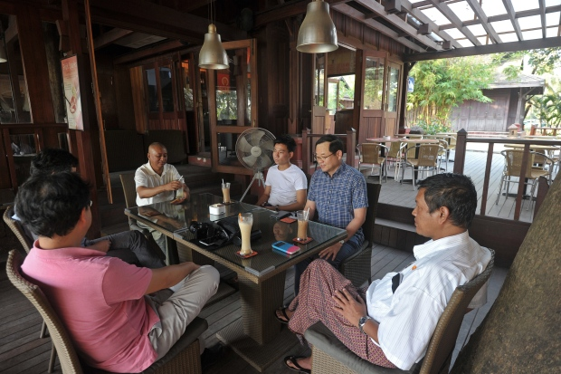 Myanmar coffee scene